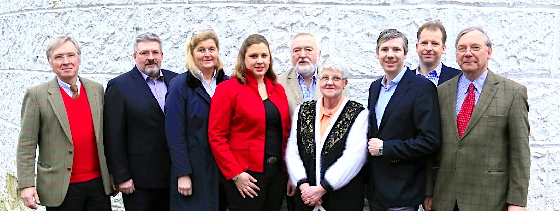 Die CDU Kandidaten der Kommunalwahl 2018 in Aumühle